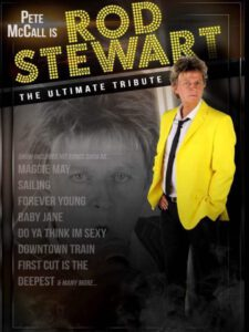 Pete McCall as Rod Stewart