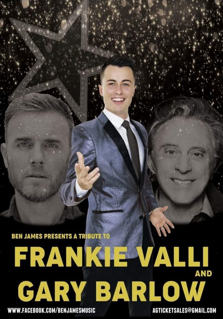 Frankie Valli and Gary Barlow Tribute Show